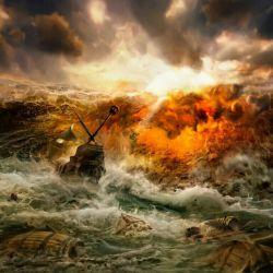 یادمان باشد در طوفان های زندگی با خدا بودن بهتر از ناخدا بودن است.