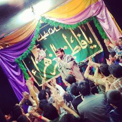 جشن فرحه الزهرا (س) و میلاد پیامبر اکرم(ص)/هیئت محبین حضرت صاحب الزمان(عج)