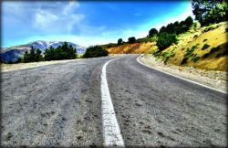 جاده شاهرود - رامیان (جنگل اولنگ)