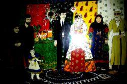 آدب وفرهنگ عروسی  در روستایی ما  کار با کلاچ و نقاشی  کار خودمه