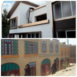 پروژه های انجام شده با محصولات شرکت سازه های پیش ساخته پرچین در شهر مشهد