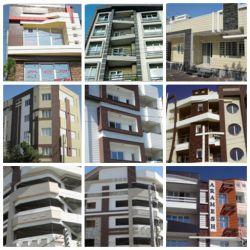 پروژه های انجام شده با محصولات شرکت سازه های پیش ساخته پرچین در شهرگنبد