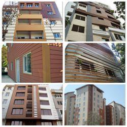 پروژه های انجام شده با محصولات شرکت سازه های پیش ساخته پرچین در شهرتهران