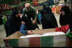 مادرم دعا کن من هم شهید بشوم ولی هرگز گریه نکن...ش،شما دوستان هم دعا کنید