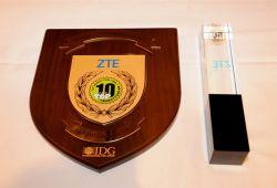 دریافت چهار جایزه IDG توسط زد تی ای در نمایشگاه 2015 CES