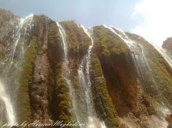 آبشار بیشه زار بین فریدون شهر اصفهان و الیگودرز