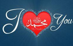من عاشق محمدم از تروریسم متنفرم توهین به پیامبران الهی را محكوم میكنم