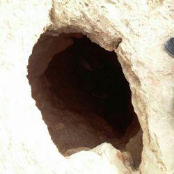 غار قرموق،در خراسان شمالی-درق