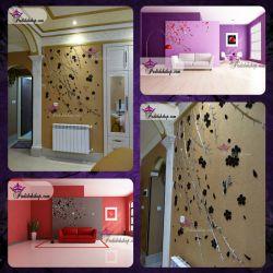 #آینه دیواری بی نظیر طرح بید #طراحی بی نظیر و زیبا برای نصب در #لابی های #هتل و #دکوراسیون #مدرن...