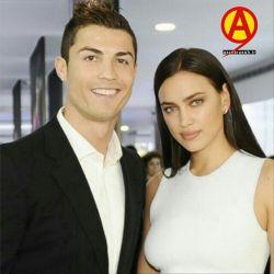 کریستیانو رونالدو و همسرش ایرینا شایک
