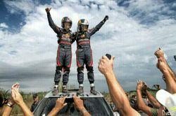 ناصر العطیه، راننده قطری با خودرو «مینی» برای دومین بار به عنوان قهرمانی رالی داکار رسید.