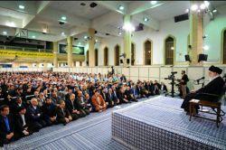 قهرمانان و ورزشکاران مسابقات آسیایی و پارا آسیایی صبح امروز چهارشنبه با حضرت آیت الله خامنه ای رهبر معظم انقلاب دیدار کردند.