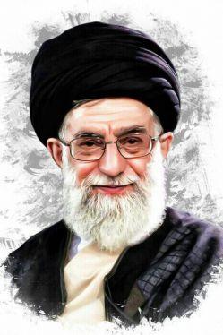 این هم از عکس رهبرم پاره تنم   باز هم به کوری چشم دشمنان نظام و انقلاب  بزرگ مردی که راه بزرگ مردی دیگر را ادامه میدهد