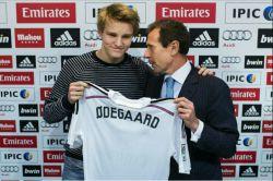 مارتین اودگارد امروز با قراردادی 6 ساله به ارزش 2.8 میلیون یورو به رئال مادرید پیوست؛ اتفاقی که به هیچ عنوان خوشایند مدیران بارسا نبود.