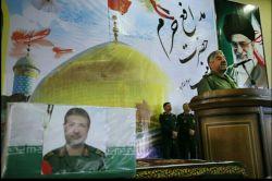 تشییع پیکر مطهر مدافع حرم حضرت زینب شهید الله دادی