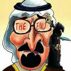 با مرگ تو در قعر سقر شور درافتاد یکبار دگر شعر قدیمی به سر افتاد این شعر همان است بدان شاه سعودی با ال علی هرکه در افتاد ور افتاد