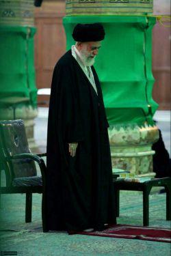 نماز آقا مسجد جمکران