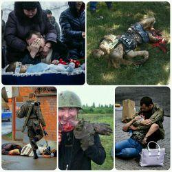 اوکراین، یا هر جای دیگه از این دنیا. بوی خون خوی انسانها رو کاملاً عوض کرده ... چقدر راحت و ساده خون زنها و بچه ها روی زمین سرد ریخته میشه ! مثل خوردن یه لیوان آب خنک !!!