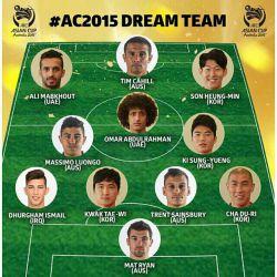 تیم منتخب جام ملتهای آسیا 2015   asrvarzesh.ir