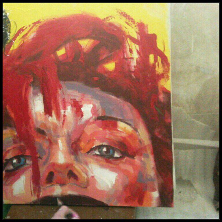 این نقاشی رو ۲۵دقیقه ای کشیدم