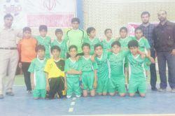 دیروز تیم فوتسال مدرسه روستامون قهرمان مدارس شد