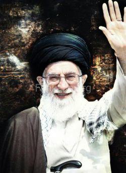 اینم یه عکس خوشگل از آقامون که خدا از همه ی بلاها حفظشون کنه ان شاء الله ....