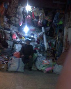 مغازه ای در بازار قدیمی زنجان