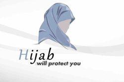 حجاب؛ تنها سلاحی است که از هردو شخص مهاجم ومدافع، حفاظت میکند!