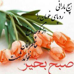 سلام صبح همگی بخیروشادی