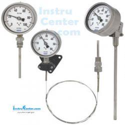 انواع گیج دمای آنالوگ یا ترمومتر عقربه ای (Analogue Temperature Gauge (bourden tube, Gas-actuated ...))