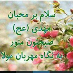 سلام. صبحتون پرانرژی و با برکت :-)