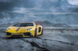 Lamborghini Aventador Snow ADV.1