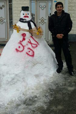 برف در ارومیه