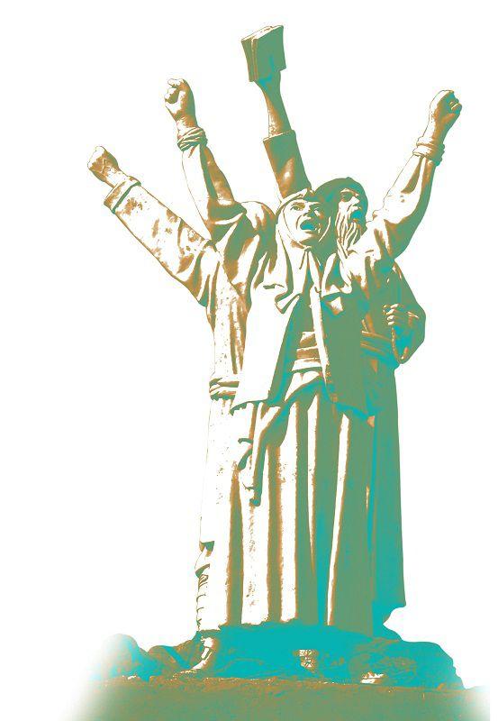 تندیس هفت پیکر سربداران توسط استاد حسین ماستیانی ساخته شده و در یکی از ورودی های شهر سبزوار در تقاطع جاده فرودگاه سبزوار با جاده آسیایی تهران - مشهد در میدانی به نام سربداران نصب گردیده است. / ارسال شده توسط: امید برومندی