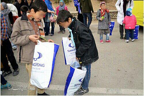 همیاری رامک خودرو با کودکان کار