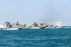 نمایش قدرت نیروی دریایی سپاه پاسداران انقلاب اسلامی