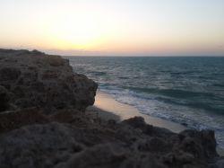 غروب در خلیج نایبند