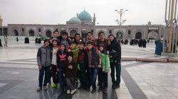 اردوی زیارتی مشهد مقدس زمستان 93