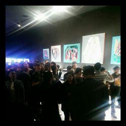 موفق شدم....  نمایش تابلوهای نقاشی مدرن کوبیسم من در پاریس