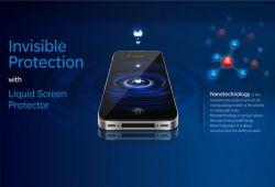 مایعی برای محافظت صفحه نمایش و جلوگیری از خطر خراشیدگی و آسیب به صفحه گوشی و تبلت