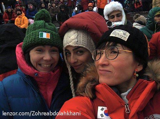 زهره عبد اله خانی-جام جهانی یخ نوردی- کره جنوبی 2015