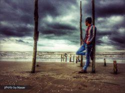 دوست دارم تا همیشه برای من ساحلی آرام باشی تا من همچون دریایی بی قرار عاشق تو باشم! photo by:Naser  @sea  #hd #iran #دریا