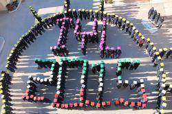 4- International Year of Light -2015 Razie High School and Zainabie Technical School, Bavi, Khuzestan, Iran