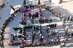 5- International Year of Light -2015 Razie High School and Zainabie Technical School, Bavi, Khuzestan, Iran