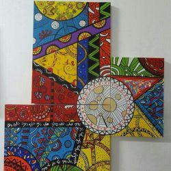 نقاشی با گواش  کار خودم ^_^