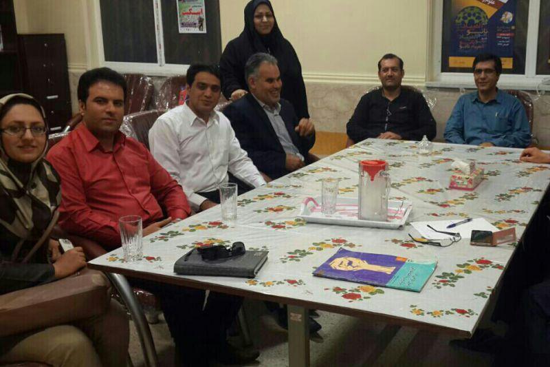 آخرین جلسه اعضای هیات علمی