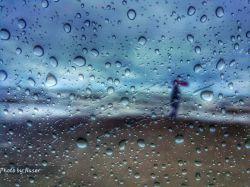 قطره های باران بهاری بر روی شیشه ماشین...... photography:Naser #sea #rine #chalus #shomal #hd #nice #lenzor #lenzak #mazandaran #iran #dubai