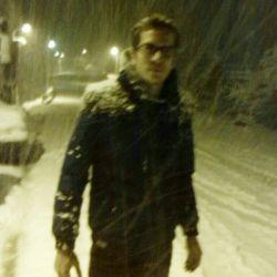 اینم یه برف حسابی خدایا شکر