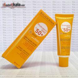 فروشگاه اینترنتی دکترکالا  www.doctorkala.com   بایودرما:BIODEMA  برحسب نوع پوست شما،فتودرم راه حلی مناسب برای محافظت و رفع احتیاج پوست شما درمقابل مضرات نور خورشید در نظر گرفته است . همانطور كه می دانید نفوذ اشعه خورشید به پوست (برحسب فصل و ساعت تابش) ، موقعیت جغرافیایی ( طول وعرض آن) متفاوت می باشد. پس باانتخاب مناسب ضد آفتاب فتودرم پوست خود را محافظت كنید