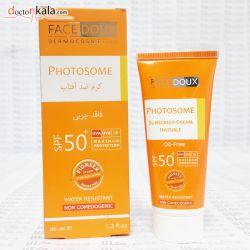 فروشگاه اینترنتی دکترکالا  www.doctorkala.com  فیس دوکس : Face doux فروش انواع کرم های ضد آفتاب ، ضد آفتاب + ضدلک ،ضد آفتب های کرم پودری و محصولات برنزه کننده در دکترکالا